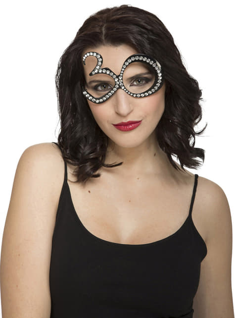 30ste Verjaardag bril met glitters voor volwassenen
