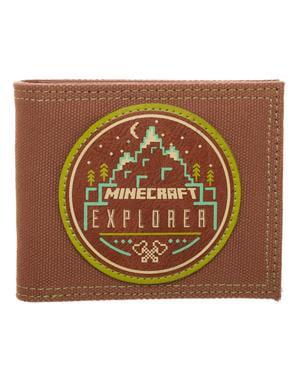 Dompet Brown Minecraft Explorer