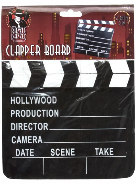ハリウッドスタイルのカチンコ