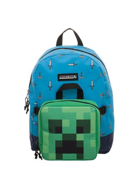 Mochila y porta merienda desmontable de Minecraft - barato