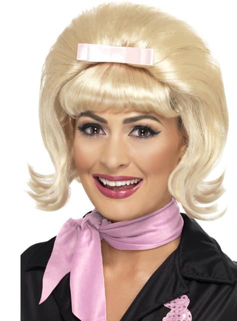Paruka blond mikádo styl 50. let