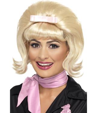 Blond 50s short bob wig