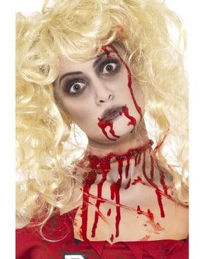 Sæt med zombiemakeup