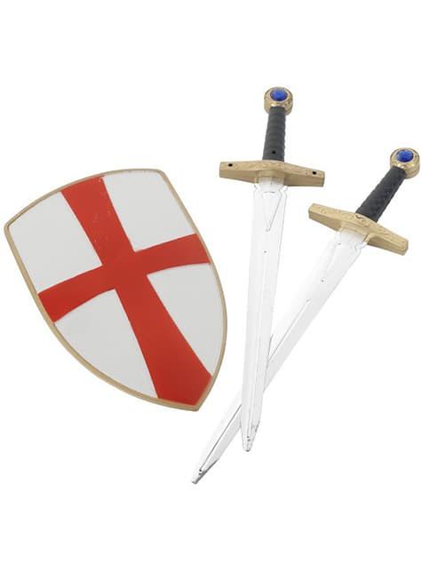 Set de cavaler templier pentru copii