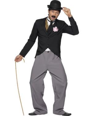 Charlie Chaplin Maskeraddräkt Vuxen