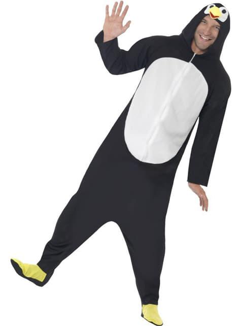 Strój zabawnego pingwina męski