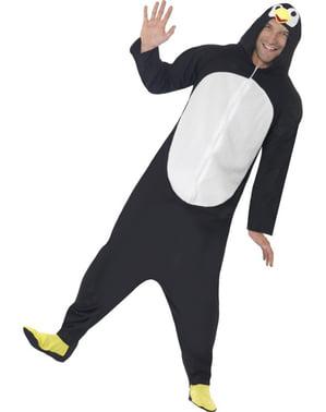 Смішні пінгвін людина дорослих костюм