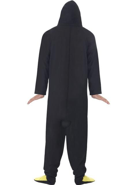Disfraz de pingüino divertido para hombre