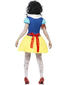 Costum de prințesă Zăpezii zombie
