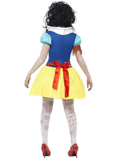 Fato de princesa Neves zombie