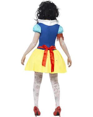 Disfraz de princesa Nieves zombie