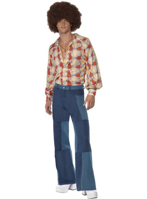 70-х років ретро людина костюм для дорослих