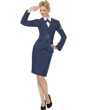 A légierő jelmezének kapitánya