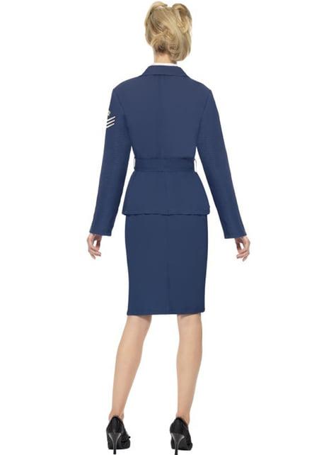 Disfraz de capitana de las fuerzas aéreas - mujer