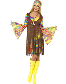 Fabulous 60s girl costume ...  sc 1 st  Funidelia & Hippie Costumes u0026 60s Outfits. Express delivery | Funidelia
