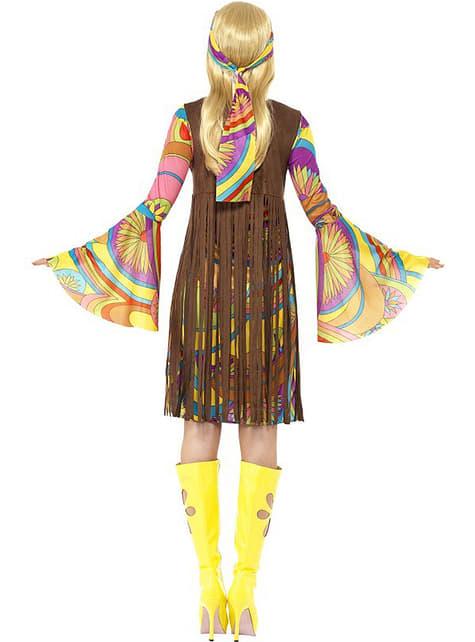 60'er peace kostume til kvinder