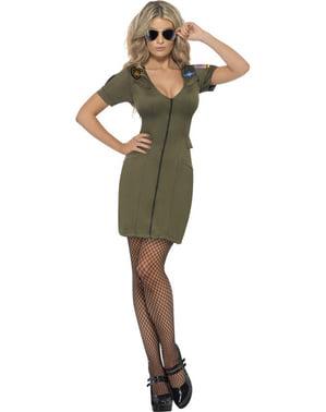 Szexi Top Gun Woman Felnőtt ruha