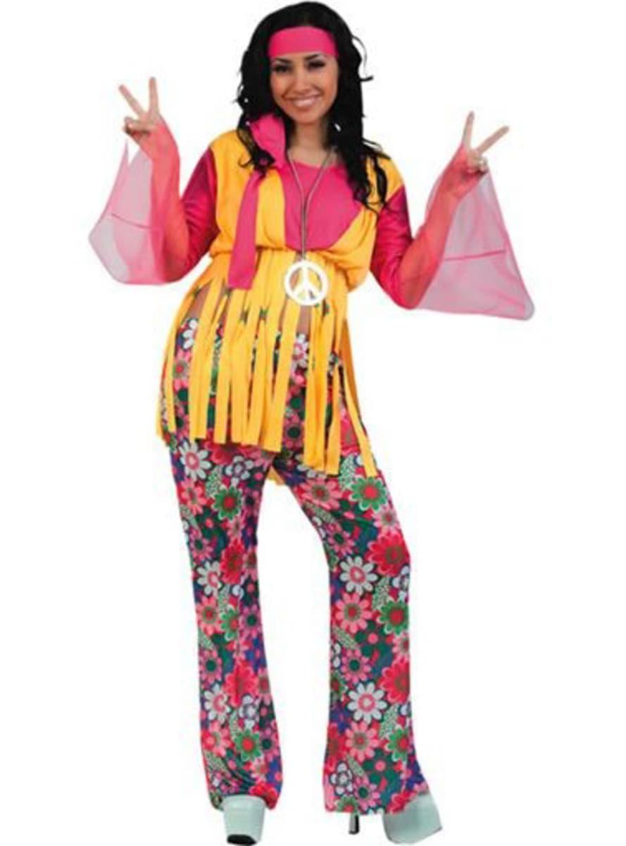 Disfraz de chica hippie funidelia - Ropa hippie moderna ...
