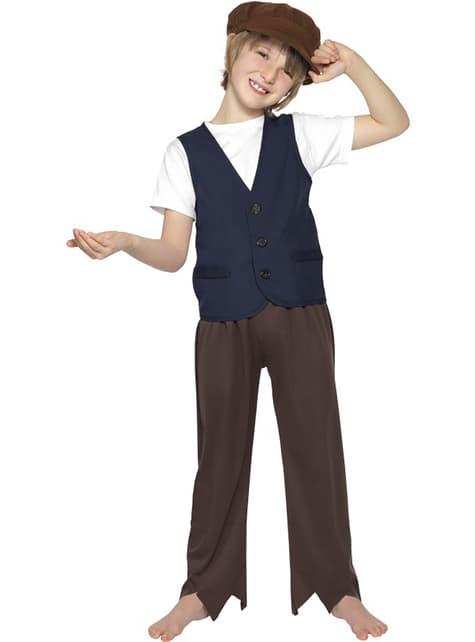 Poor Victorian boy child costume