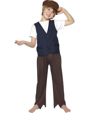 Chlapecký kostým chudý viktoriánský chlapec klasický