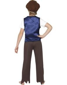 Disfraz de victoriano pobre classic para niño