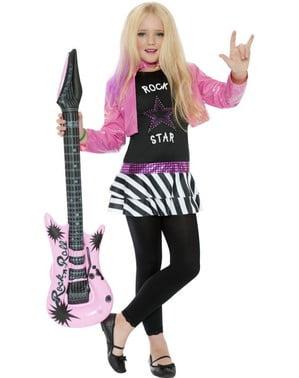 Strój gwiazda rocka dla dziewczynki