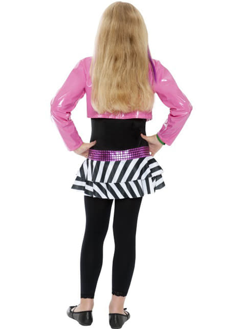 Glamorous rock star girl Kids costume