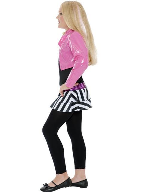 Očarujúce rocková hviezda dievčenský kostým