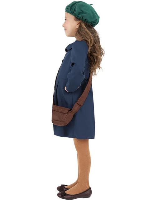 40-talls blått kostyme for jente