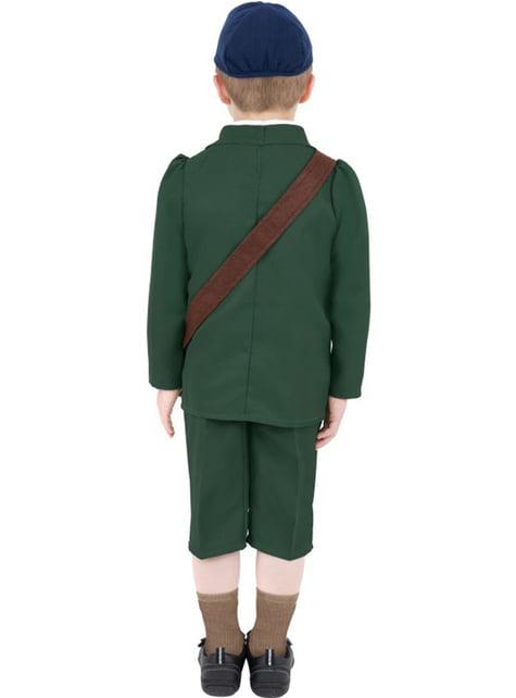 40's boy green costume