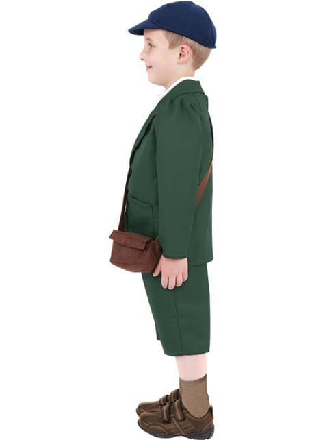 40er Jahre Kostüm für Jungen grün