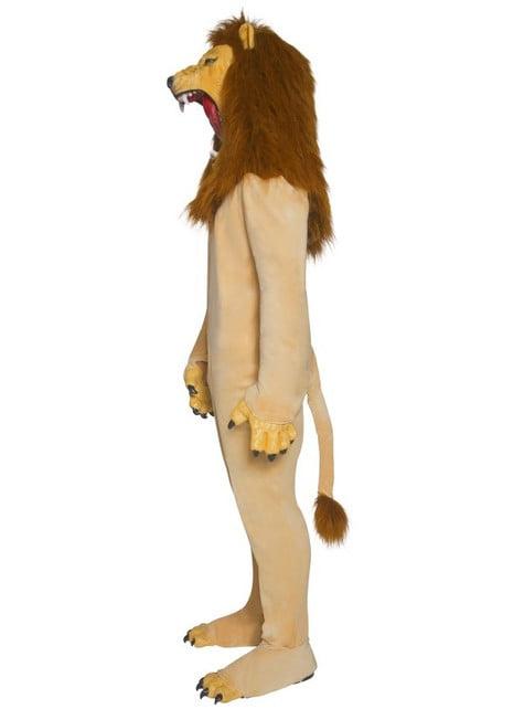 Disfraz de león Deluxe para adulto - original