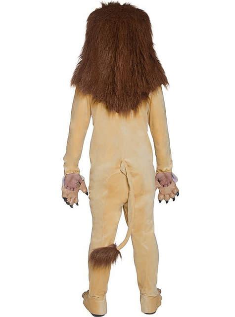 Disfraz de león Deluxe para adulto - traje