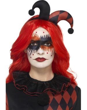 Harlequin make-up sæt