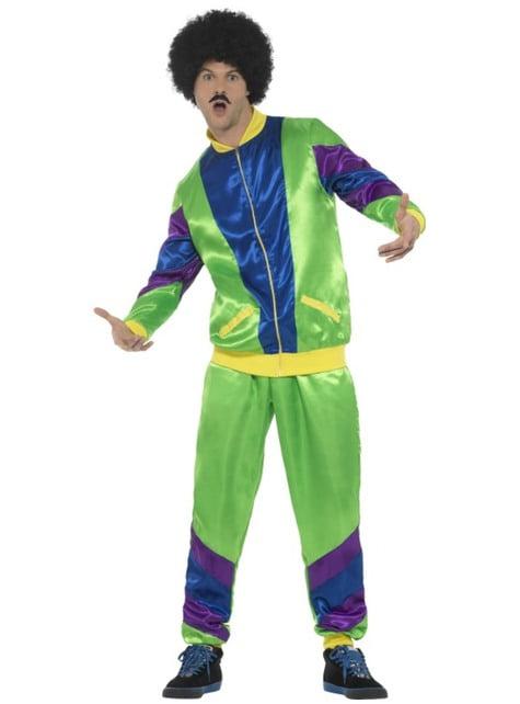 Costum anii 80 sportiv pentru bărbat