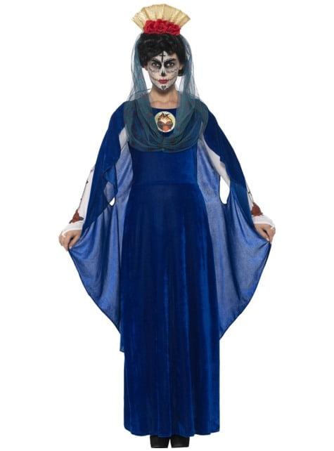 Costum fecioara Catrina ziua morților pentru femeie