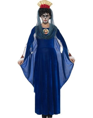 Virgin Catrina Day of the Dead costume for women