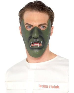 Muzzle mask for cannibals for adults
