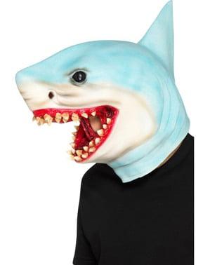 Máscara de tubarão para adulto