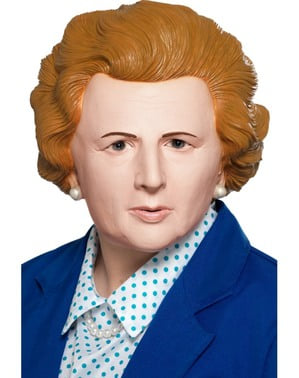 Thatcher Iron Lady mask for adults
