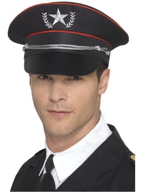 Sombrero militar deluxe para adulto
