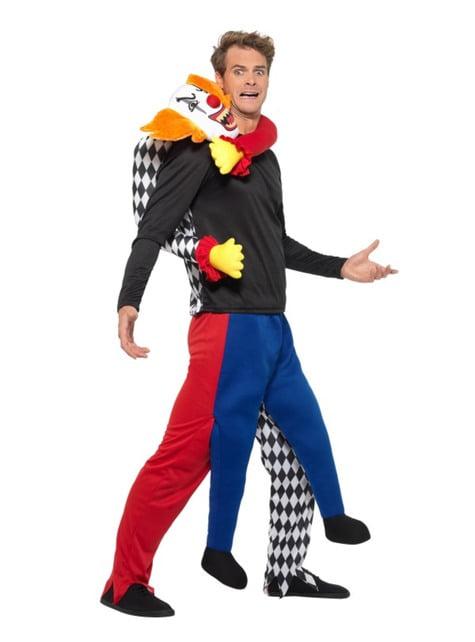Disfraz de payaso secuestrador carry me para adulto - adulto