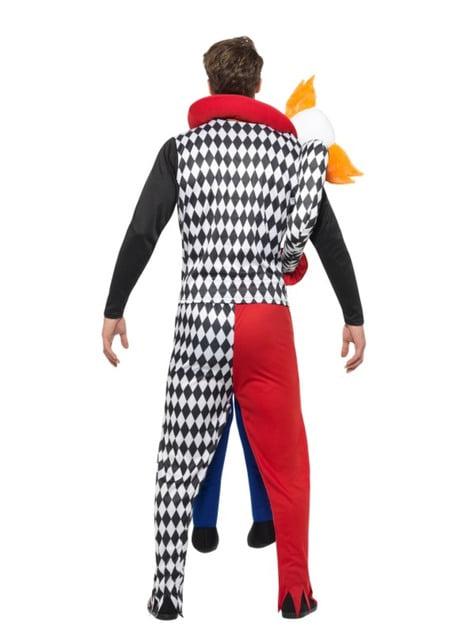 Disfraz de payaso secuestrador carry me para adulto - original
