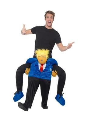 Piggyback Donald Trump kostuum
