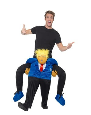 Piggyback Donald Trump Costume