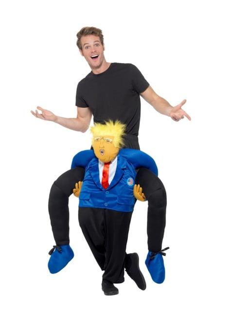 Disfraz de presidente Estados Unidos ride on para adulto - adulto