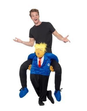 Huckepack Kostüm Donald Trump
