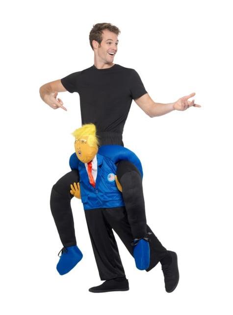 Disfraz de presidente Estados Unidos ride on para adulto - traje