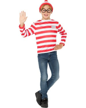 Where's Wally costume for boys
