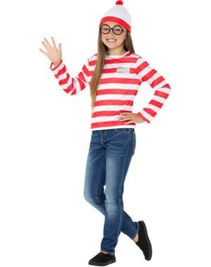 Klasyczny Strój Gdzie jest Wally? dla chłopców